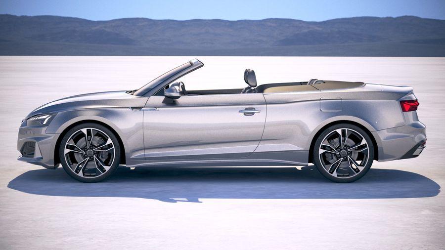 Audi A5 Cabrio 2020 royalty-free 3d model - Preview no. 7