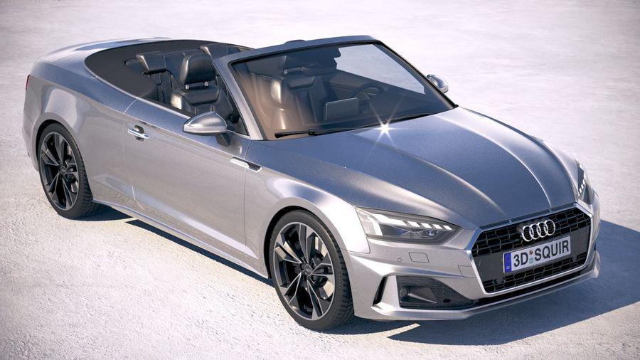 Audi A5 Cabrio 2020 royalty-free 3d model - Preview no. 12