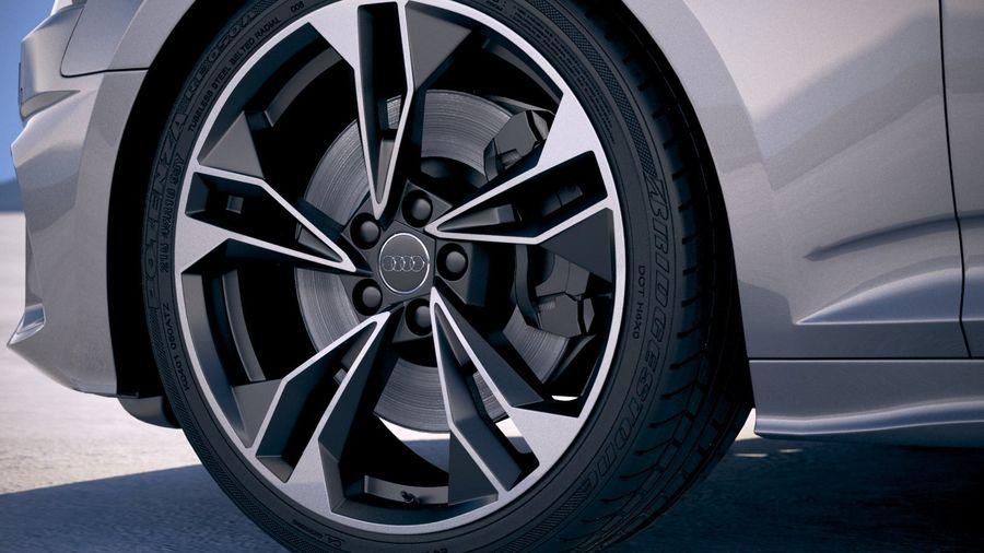 Audi A5 Cabrio 2020 royalty-free 3d model - Preview no. 15