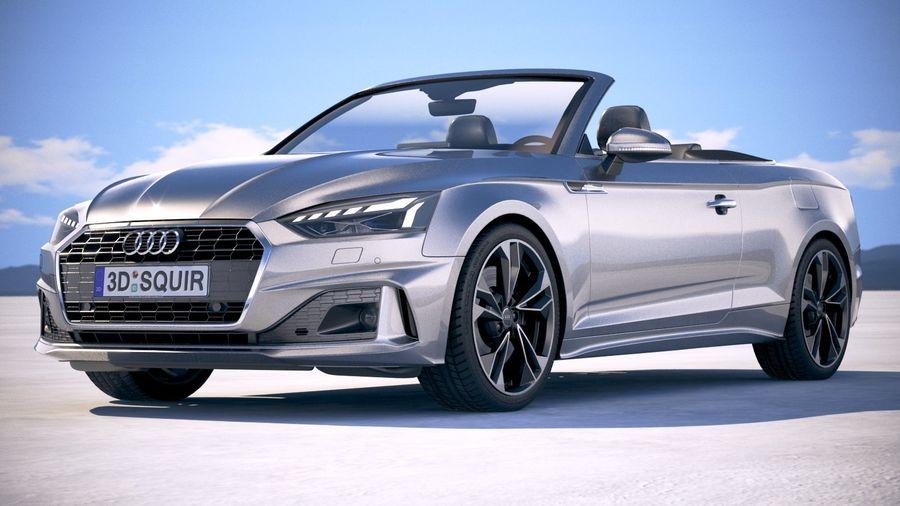 Audi A5 Cabrio 2020 royalty-free 3d model - Preview no. 13