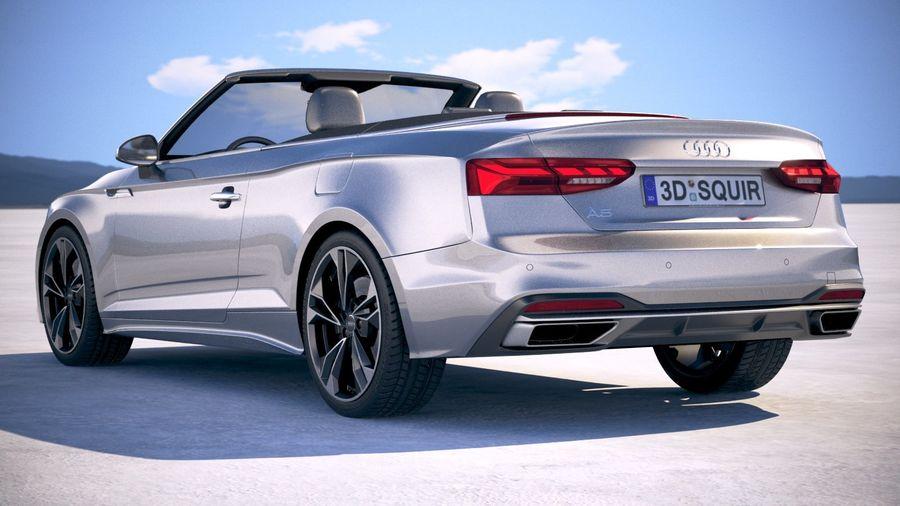 Audi A5 Cabrio 2020 royalty-free 3d model - Preview no. 14