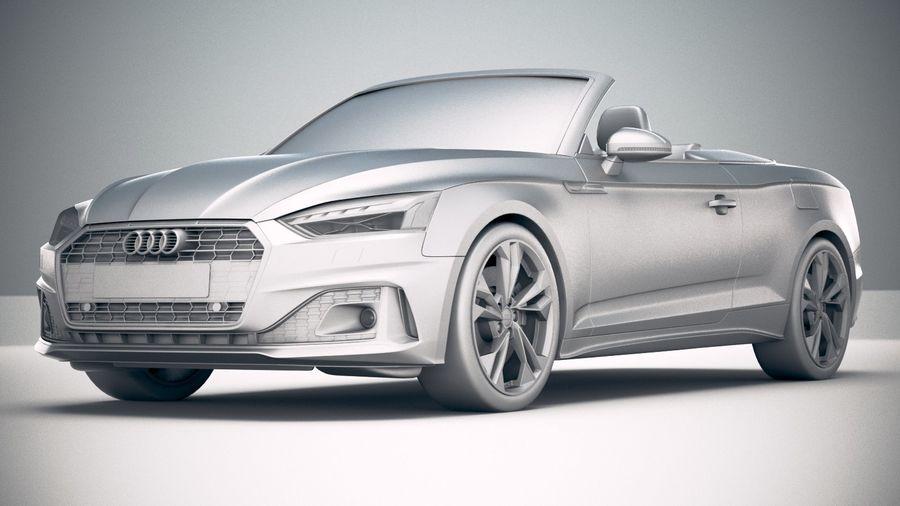 Audi A5 Cabrio 2020 royalty-free 3d model - Preview no. 23