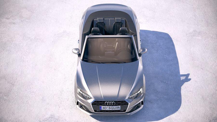 Audi A5 Cabrio 2020 royalty-free 3d model - Preview no. 9