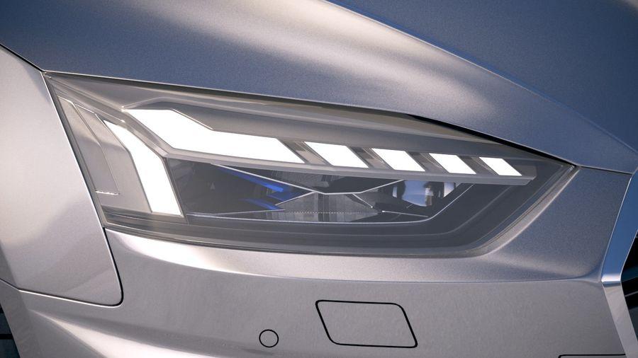 Audi A5 Cabrio 2020 royalty-free 3d model - Preview no. 16