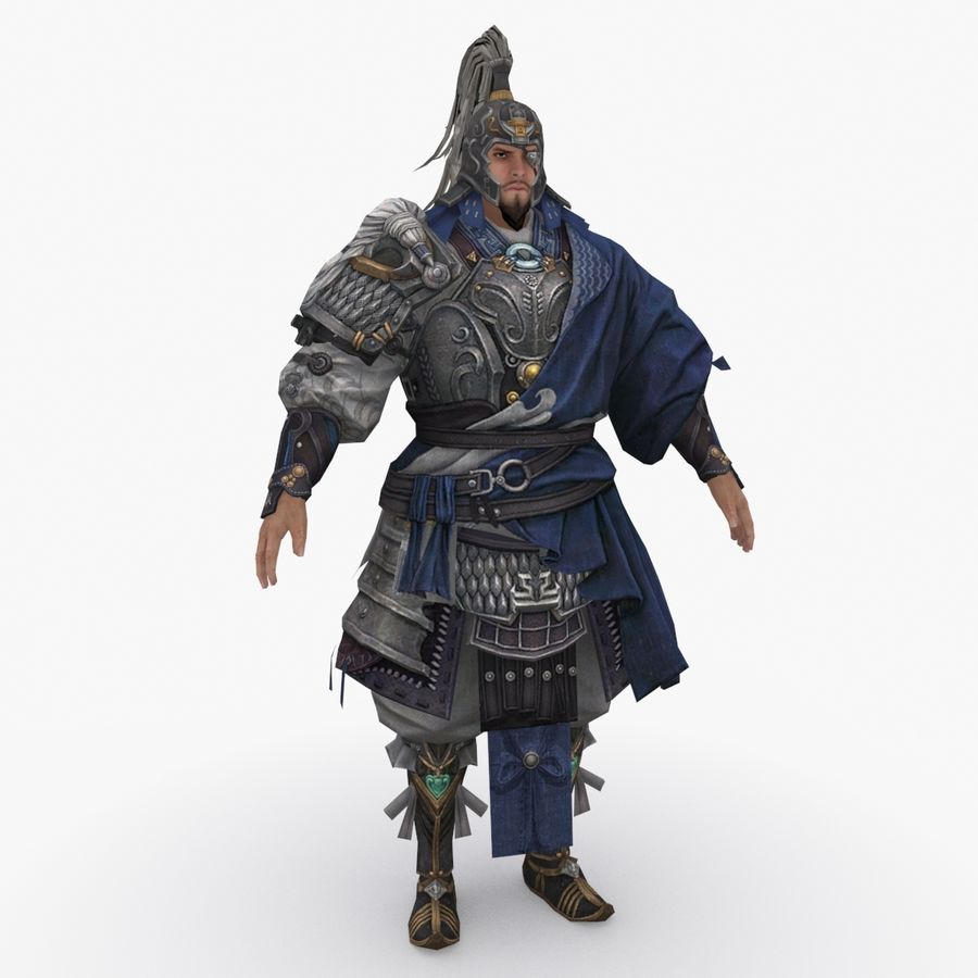 Mittelalterliches China-Zeichen 008 royalty-free 3d model - Preview no. 1