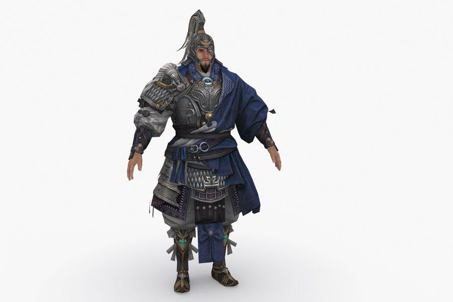 Mittelalterliches China-Zeichen 008 royalty-free 3d model - Preview no. 2