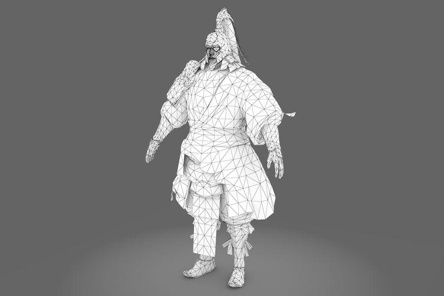 Mittelalterliches China-Zeichen 008 royalty-free 3d model - Preview no. 8