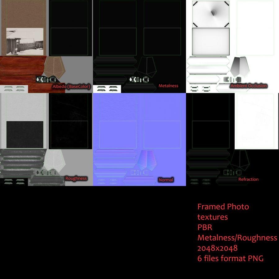 Foto incorniciata royalty-free 3d model - Preview no. 17