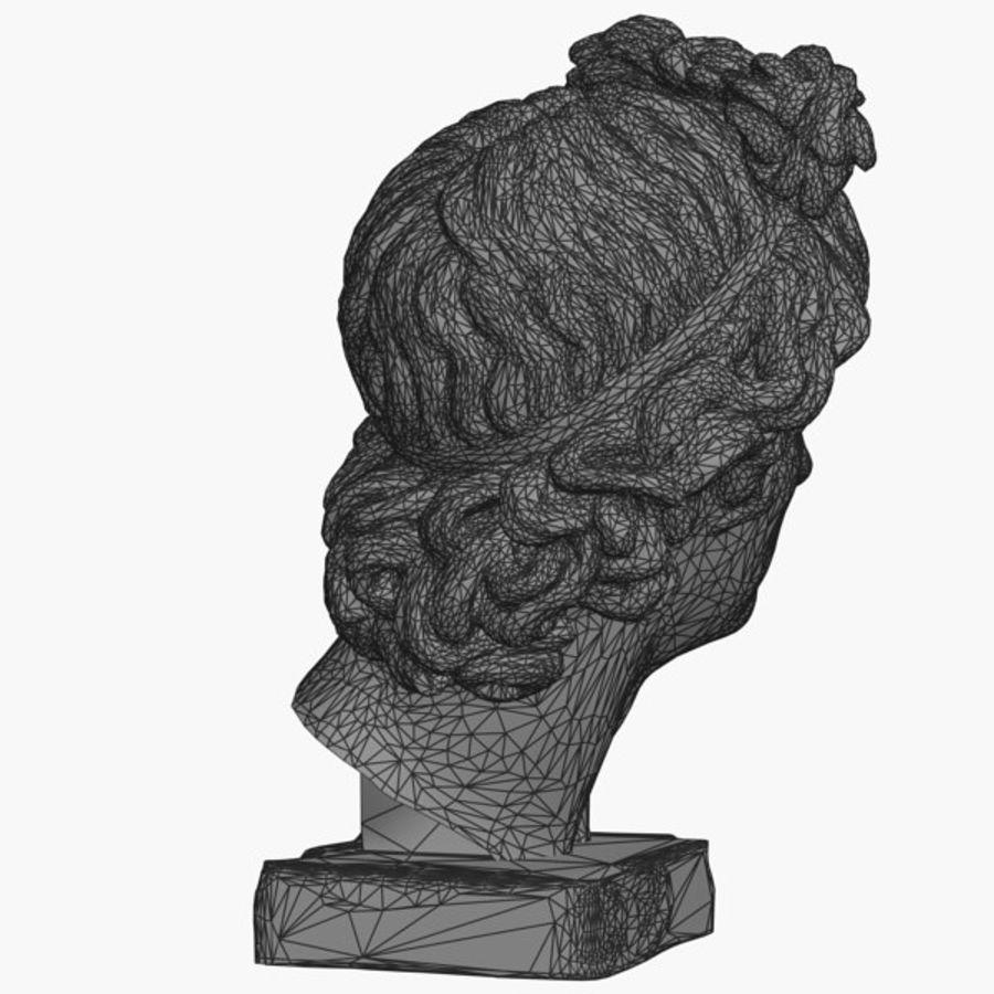 Apollo Head royalty-free 3d model - Preview no. 10