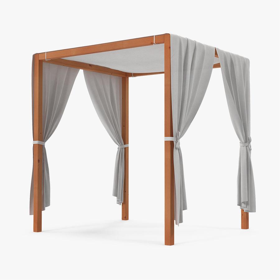- Wooden Outdoor Canopy 3D Model $19 - .max .ma .c4d .blend .obj