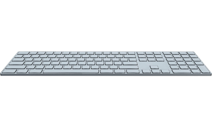 Apple Wireless Keyboard royalty-free 3d model - Preview no. 11