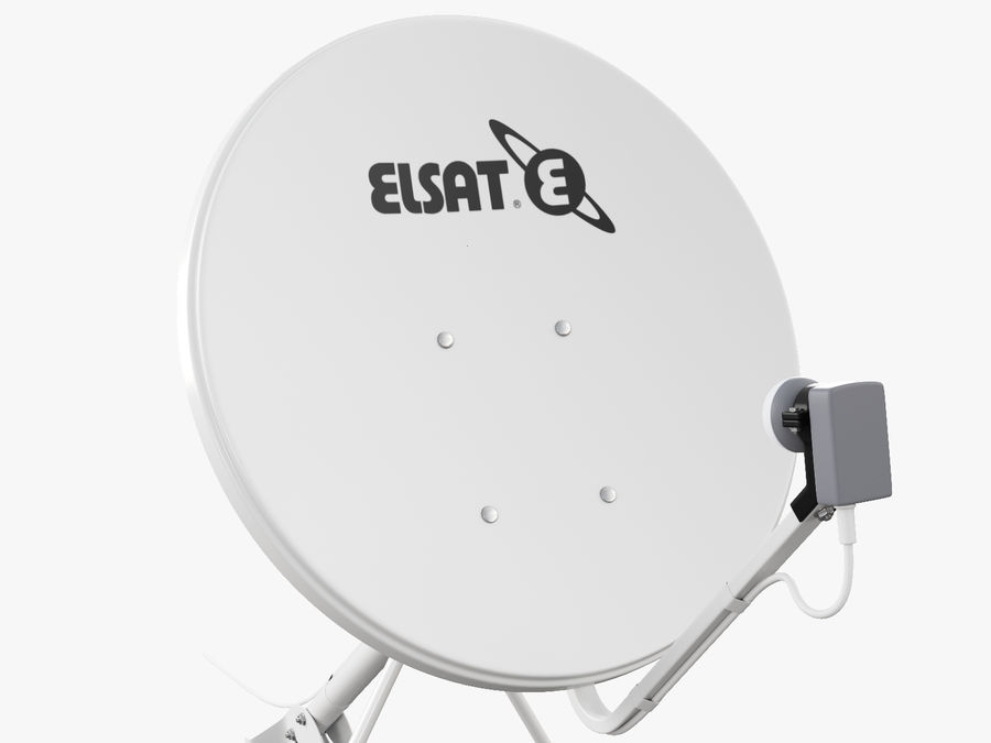 Satellite Dish royalty-free 3d model - Preview no. 26