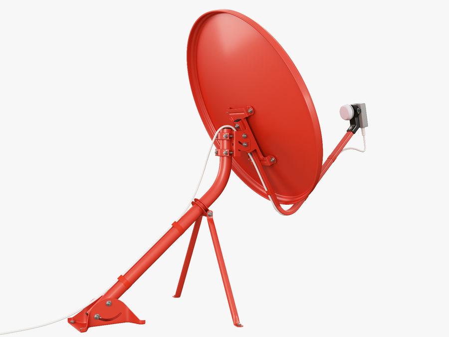 Satellitenschüssel royalty-free 3d model - Preview no. 7