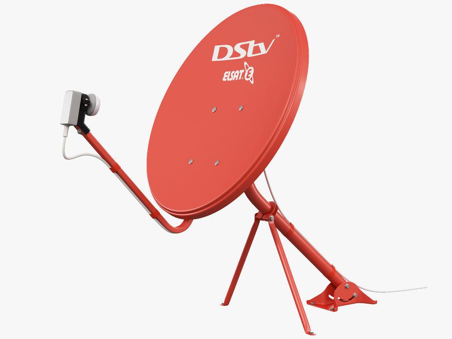 Satellitenschüssel royalty-free 3d model - Preview no. 2