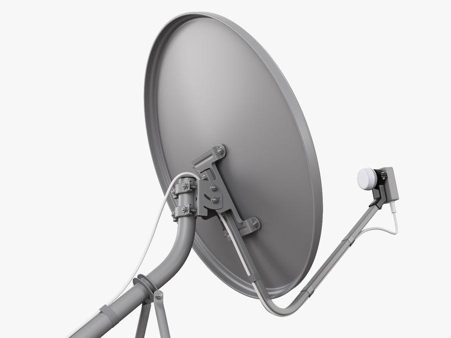 Satellitenschüssel royalty-free 3d model - Preview no. 20