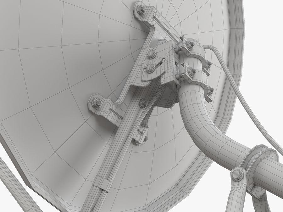 Satellitenschüssel royalty-free 3d model - Preview no. 41