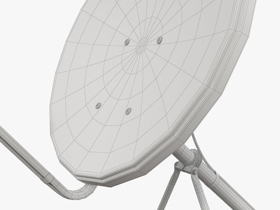 Satellitenschüssel royalty-free 3d model - Preview no. 42