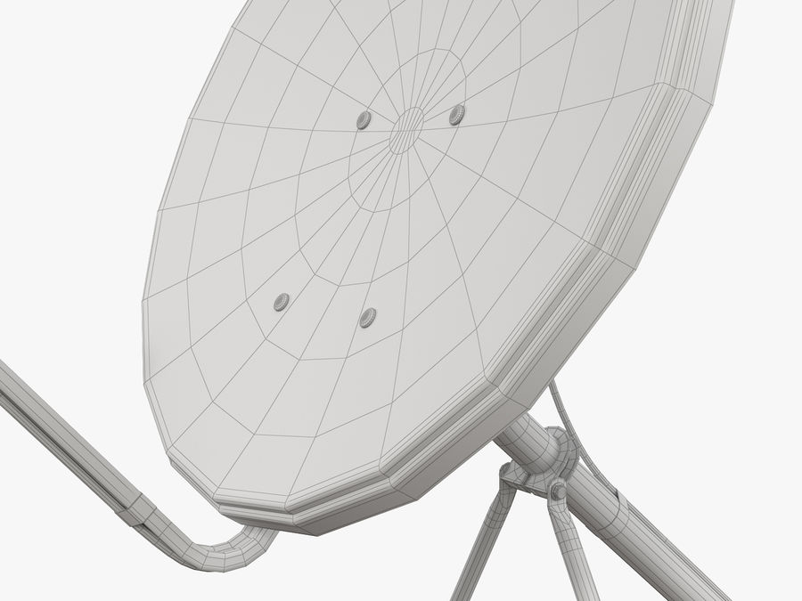 Satellite Dish royalty-free 3d model - Preview no. 42