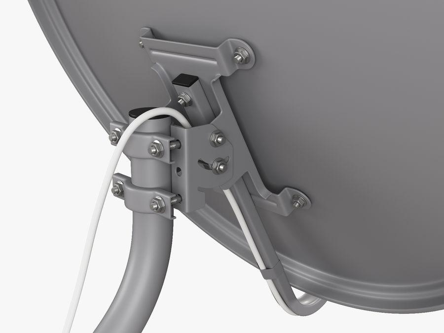 Satellitenschüssel royalty-free 3d model - Preview no. 21