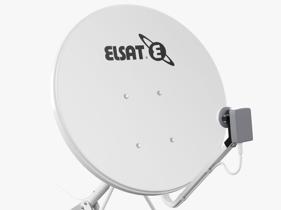 Satellitenschüssel royalty-free 3d model - Preview no. 26