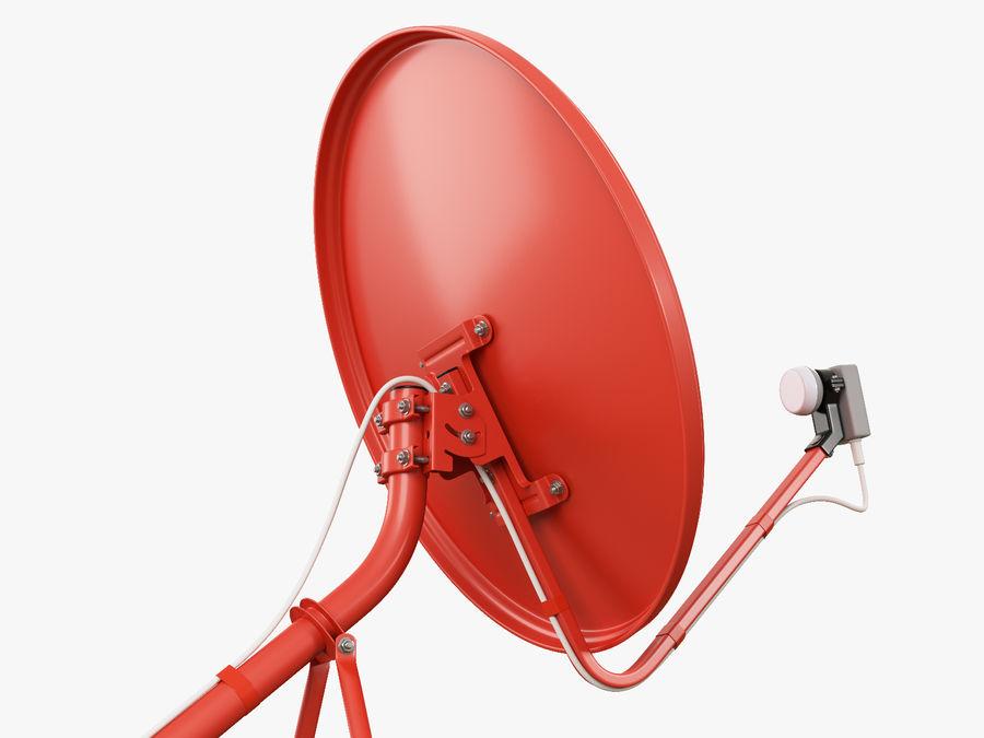 Satellitenschüssel royalty-free 3d model - Preview no. 8