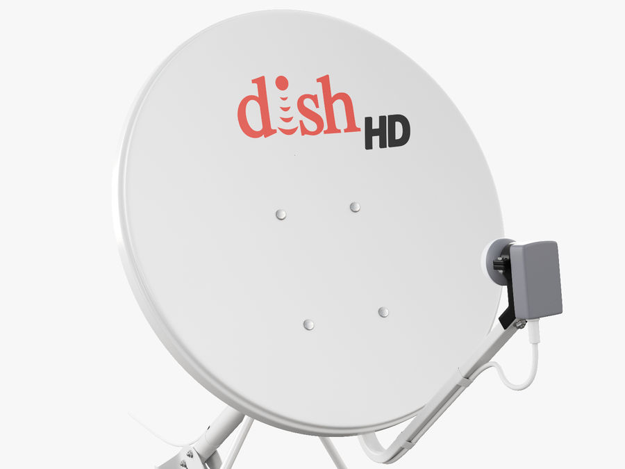 Satellite Dish royalty-free 3d model - Preview no. 27
