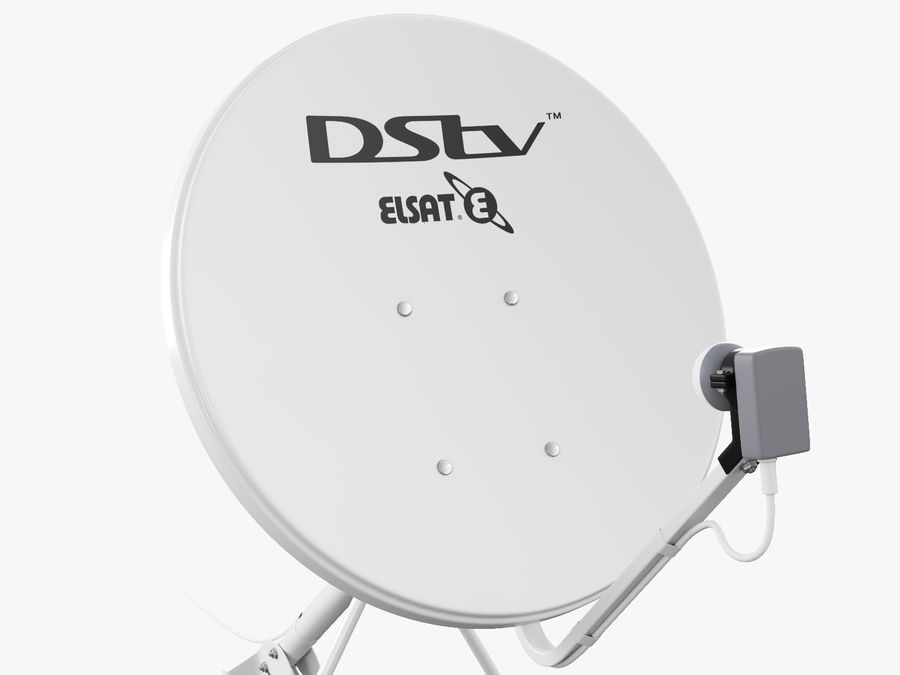 Satellitenschüssel royalty-free 3d model - Preview no. 23