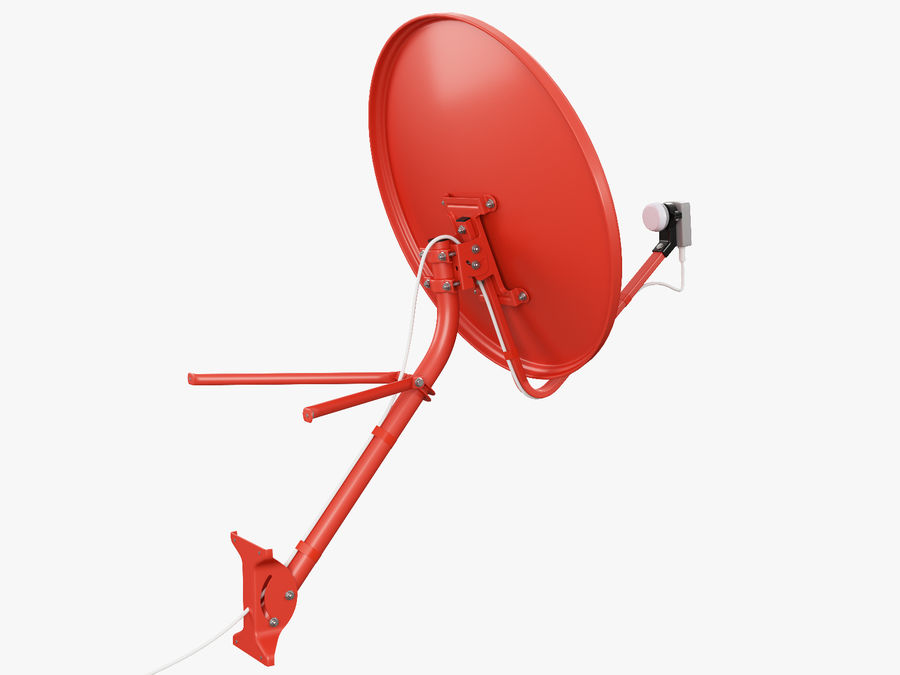 Satellite Dish royalty-free 3d model - Preview no. 15