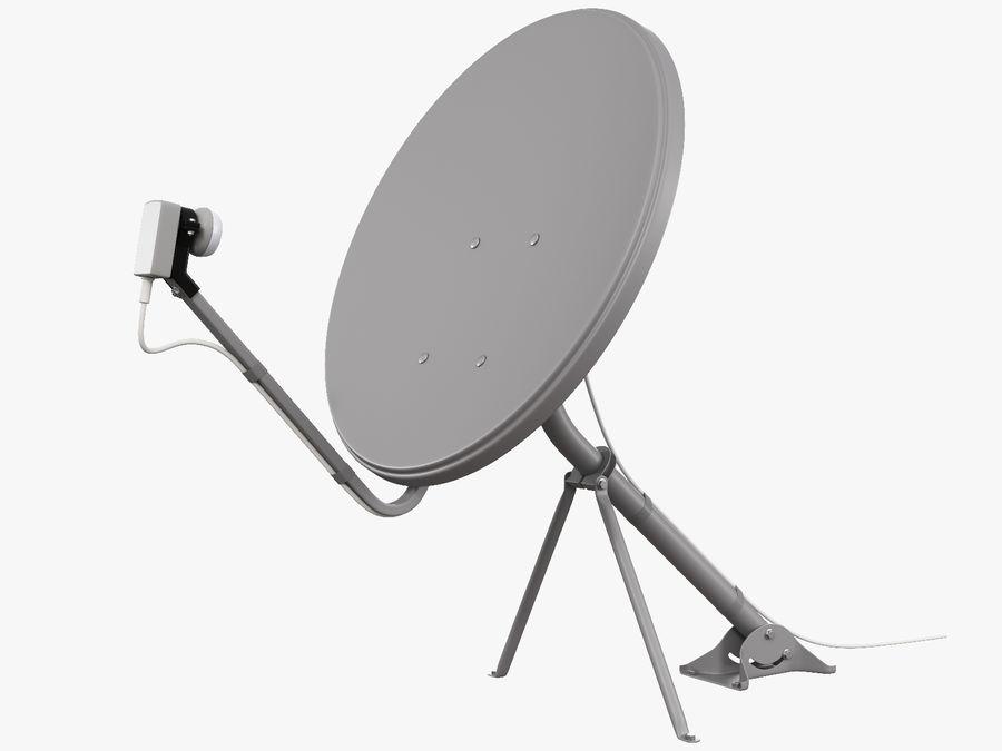 Satellitenschüssel royalty-free 3d model - Preview no. 6