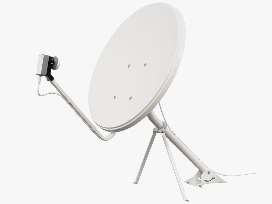 Satellitenschüssel royalty-free 3d model - Preview no. 5