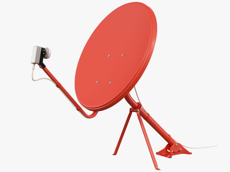 Satellitenschüssel royalty-free 3d model - Preview no. 1
