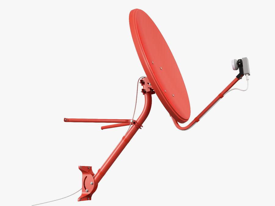 Satellitenschüssel royalty-free 3d model - Preview no. 16