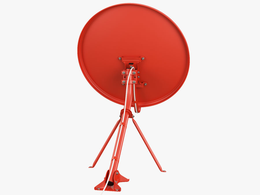 Satellitenschüssel royalty-free 3d model - Preview no. 12