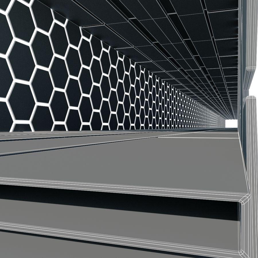Enkel arkitektur royalty-free 3d model - Preview no. 12