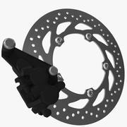 FREIN À DISQUE DE MOTOCYCLETTE 3d model