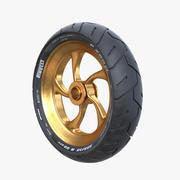 Superbike Wheel 3d model