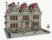 Old Medieval Building V2 3d model
