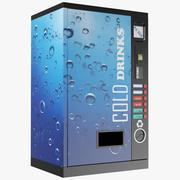 Automat do napojów zimnych 3d model