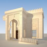 Moschee 3d model