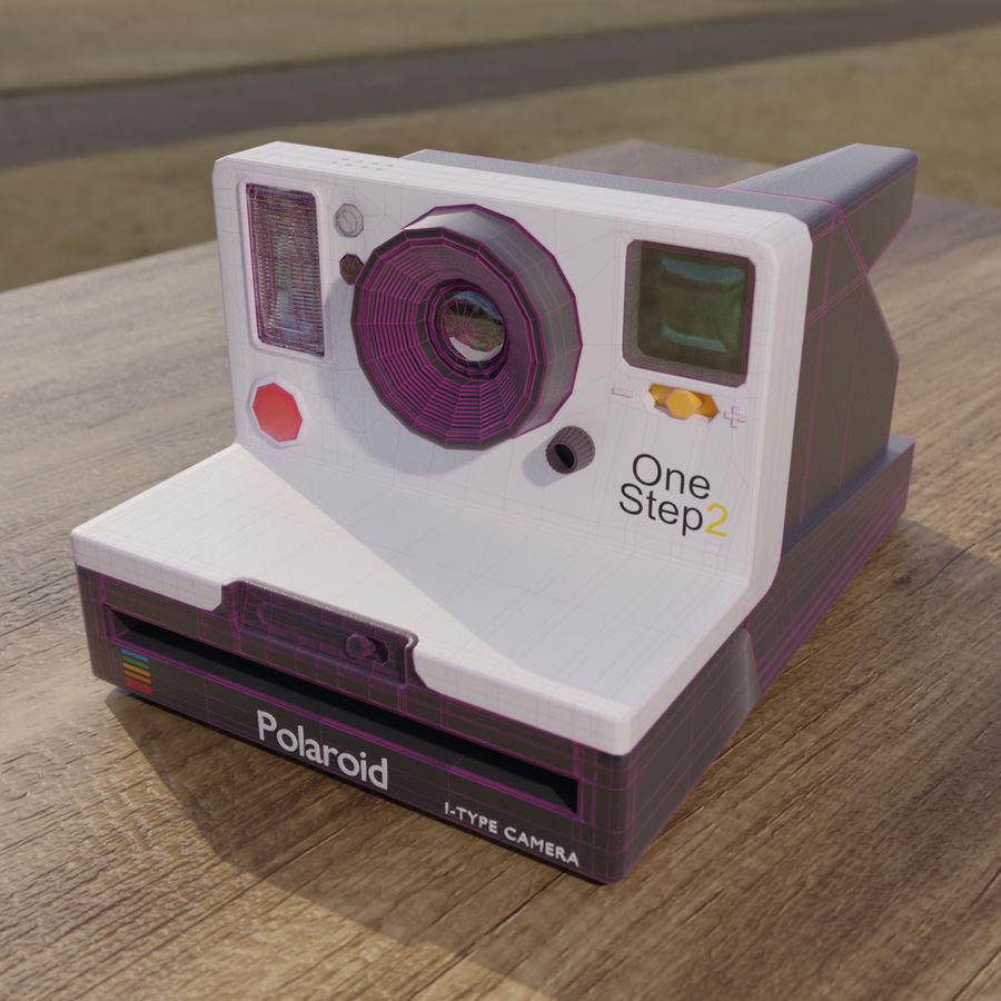 Polaroid royalty-free 3d model - Preview no. 4