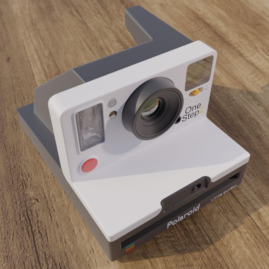 Polaroid royalty-free 3d model - Preview no. 3