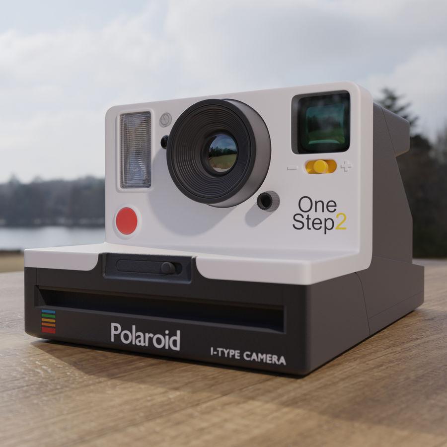 Polaroid royalty-free 3d model - Preview no. 1