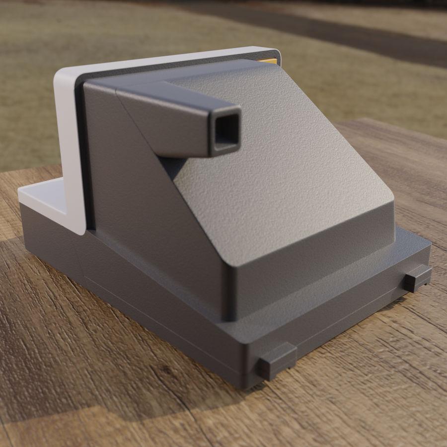 Polaroid royalty-free 3d model - Preview no. 2