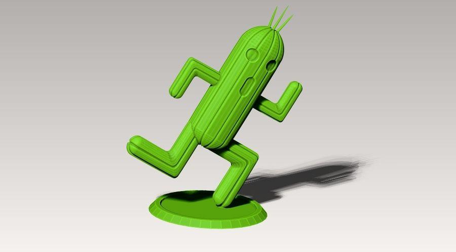 estatua de cactuar royalty-free modelo 3d - Preview no. 5