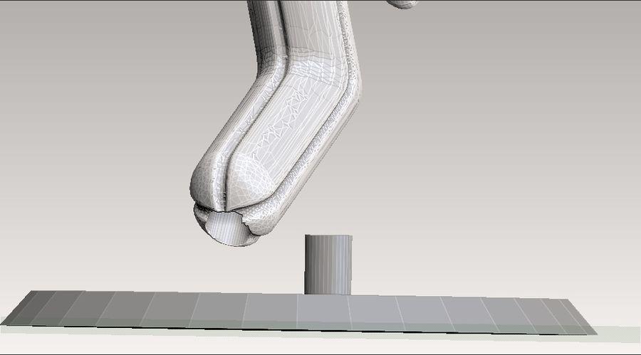 estatua de cactuar royalty-free modelo 3d - Preview no. 7