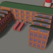 Fábrica industrial 3d model