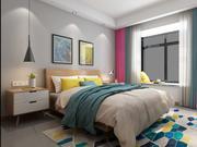 Bedroom 5500x3000 3d model
