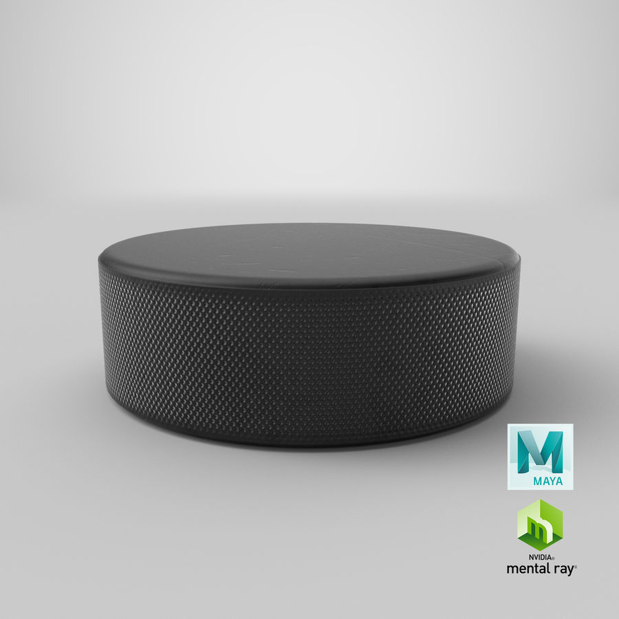 Hockey-Puck royalty-free 3d model - Preview no. 20
