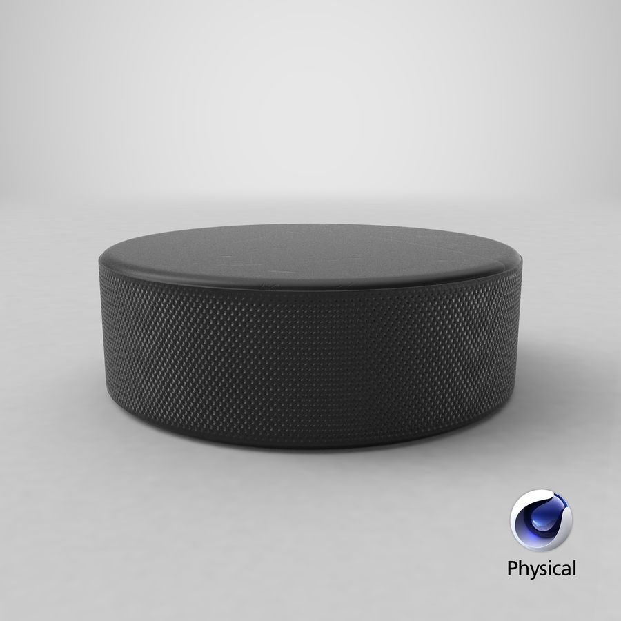 Hockey-Puck royalty-free 3d model - Preview no. 12