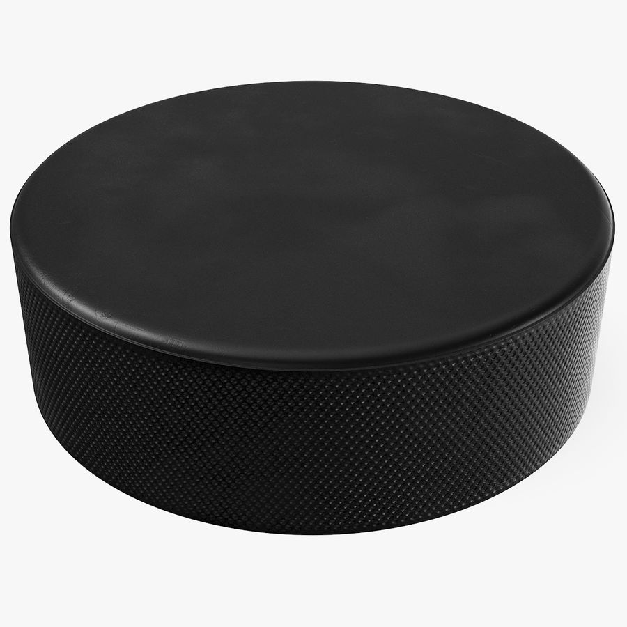 Hockey-Puck royalty-free 3d model - Preview no. 1